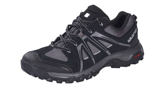 Salomon Evasion Aero Hiking Shoes Men black/autobahn/pewter